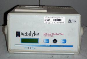 Array Medical Actalyke A1P Blood Coagulation Analyzer