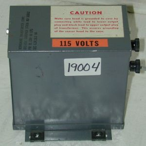 Berkshire BTC-9391 6 Volt Transformer