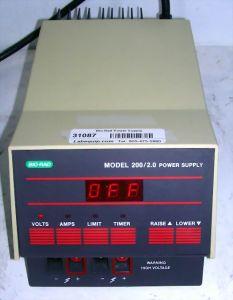 Bio-Rad Power Pac 200/2.0 Electrophoresis Power Supply