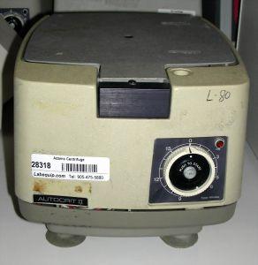 Clay Adams Autocrit II 0574 Bench-model, Hematocrit Centrifuge