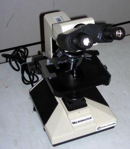 Fisher Scientific Micromaster I 12-561B Binocular Microscope