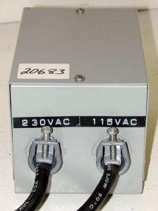 Hammond 170C Step-up Transformer