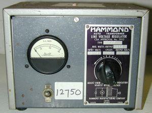 Hammond 173 Variable Transformer