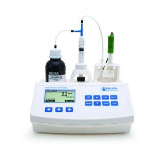 Hanna Instruments HI 84502 Total Acidity Titrator for Wine