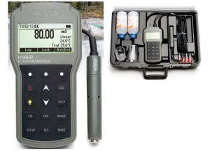 Hanna Instruments HI 98192 Digital, Portable Conductivity-TDS-Salinity Metr
