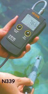 Hanna Instruments HI 991300 Digital, Portable pH-Conductivity-TDS Meter