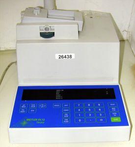 Mettler DL-12 pH Titrator