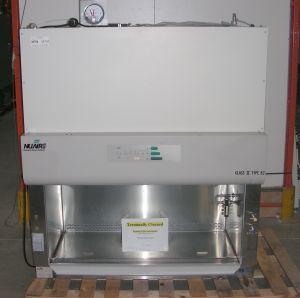 Nuaire NU-435-400 Class II, B2 Laminar Flow Biohazard Hood