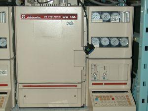 Shimadzu GC-9A FPD Gas Chromatograph