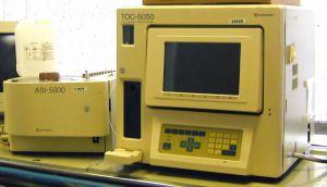 Shimadzu TOC-5050 with sampler TOC Analyzer