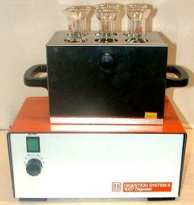 Tecator DS-6 (1007) 6-place Kjeldahl Digester