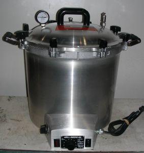 Wisconsin Aluminum Steroclave 75X Bench-model Autoclave Sterilizer