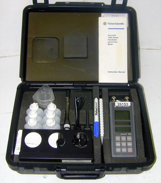 Fisher Scientific Accumet 1003 Digital, Portable pH Meter